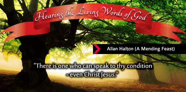 Allan Halton – Hearing The Living Words Of God
